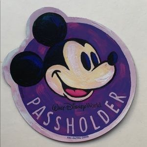 Disney Mickey Mouse Annual Passholder Magnet